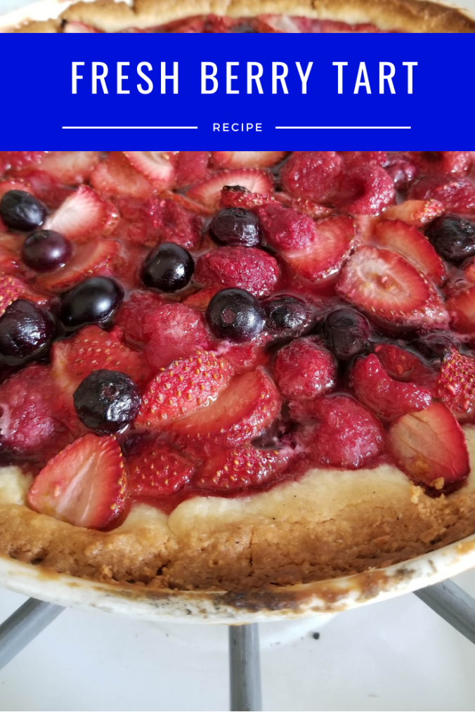 Fresh Berry Tart - I Crashed the Web